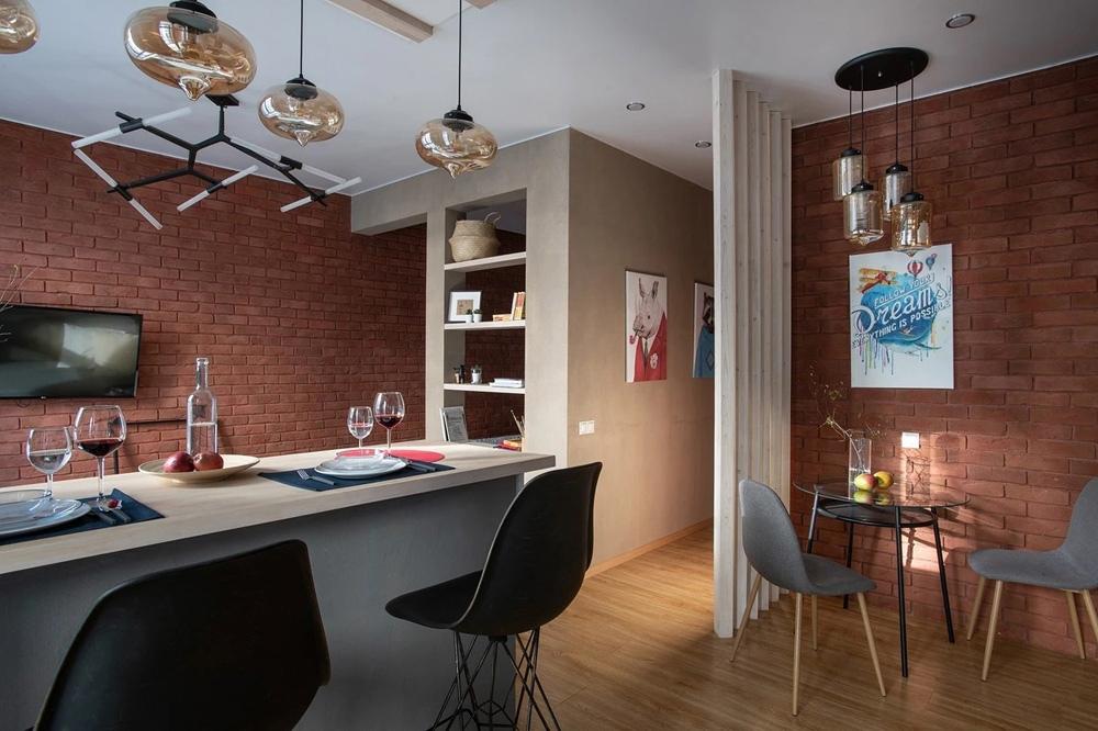 Дизайн московской квартиры 38 кв.