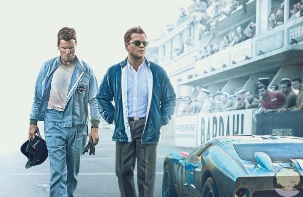 Ford против Ferrari (2019 год) Жанр: биография, спорт, драма, боевикСюжет: В начале 1960-х Генри Форд II принимает решение улучшить имидж компании и сменить курс на производство более модных