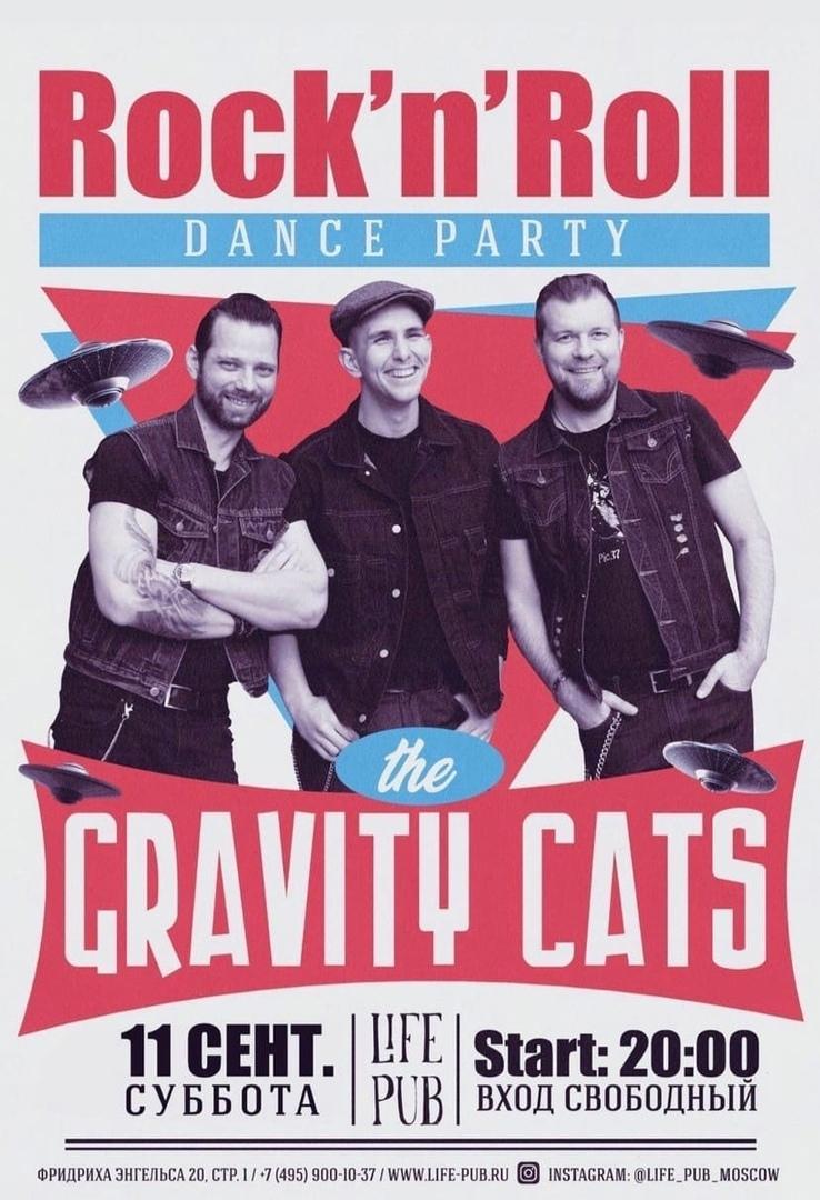 11.09 Gravity Cats в Life Pub!