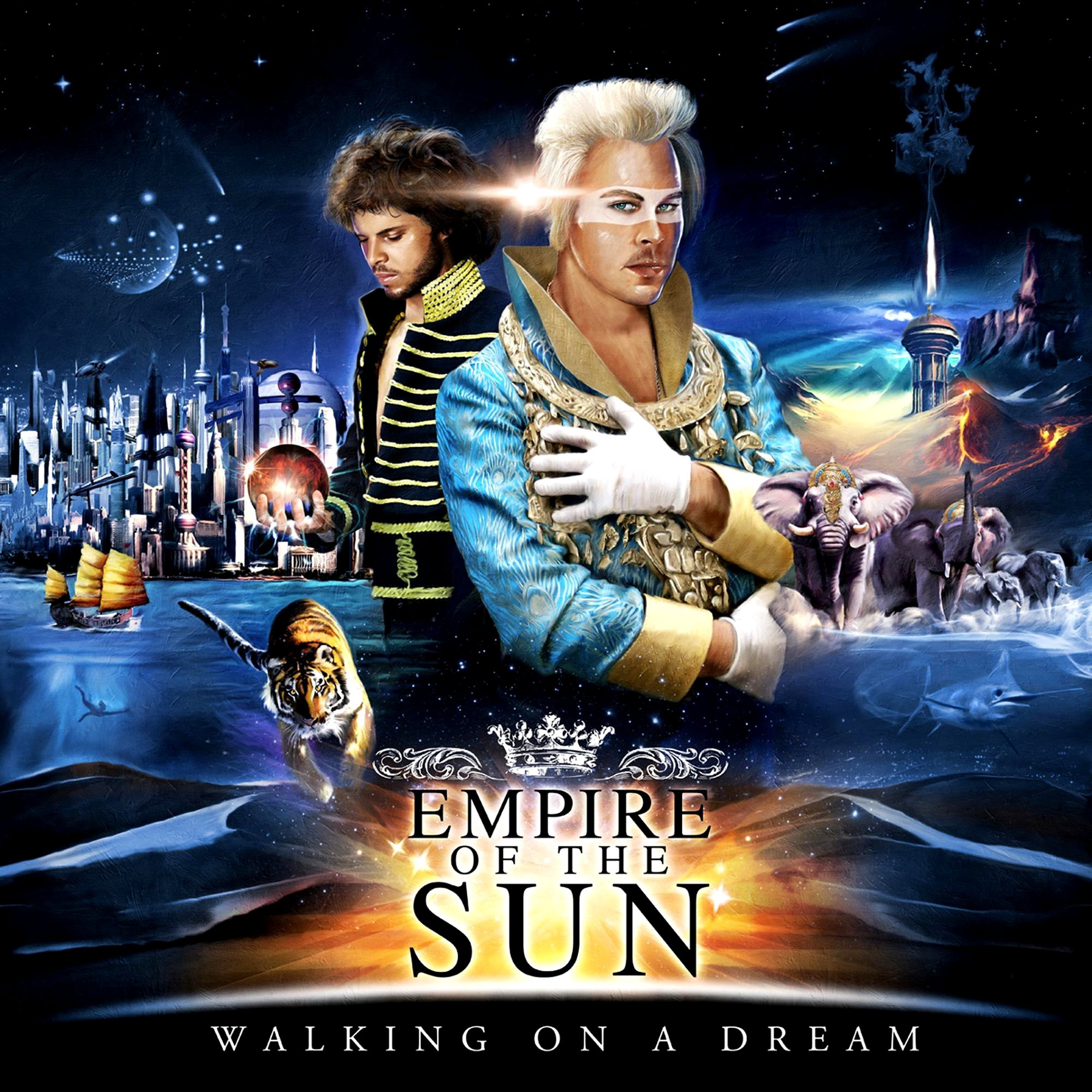 Empire Of The Sun album Walking On A Dream - EP