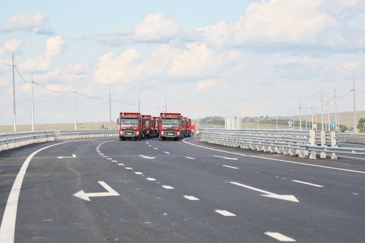 Новую дорожную развязку в обход станции Сенной открыли на полтора года раньше намеченного срока