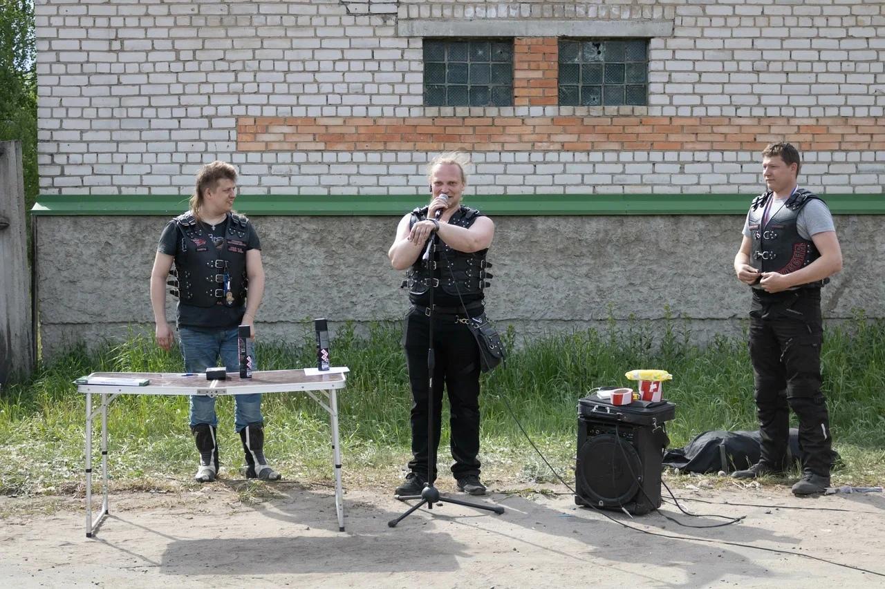 Четвертый этап чемпионата по мотоджимхане прошел в Кимрах