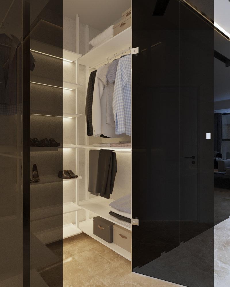 Визуализация интерьера квартиры 55 кв.