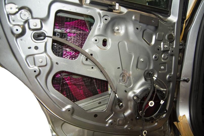 Комплексная шумоизоляция Renault Arkana, изображение №7