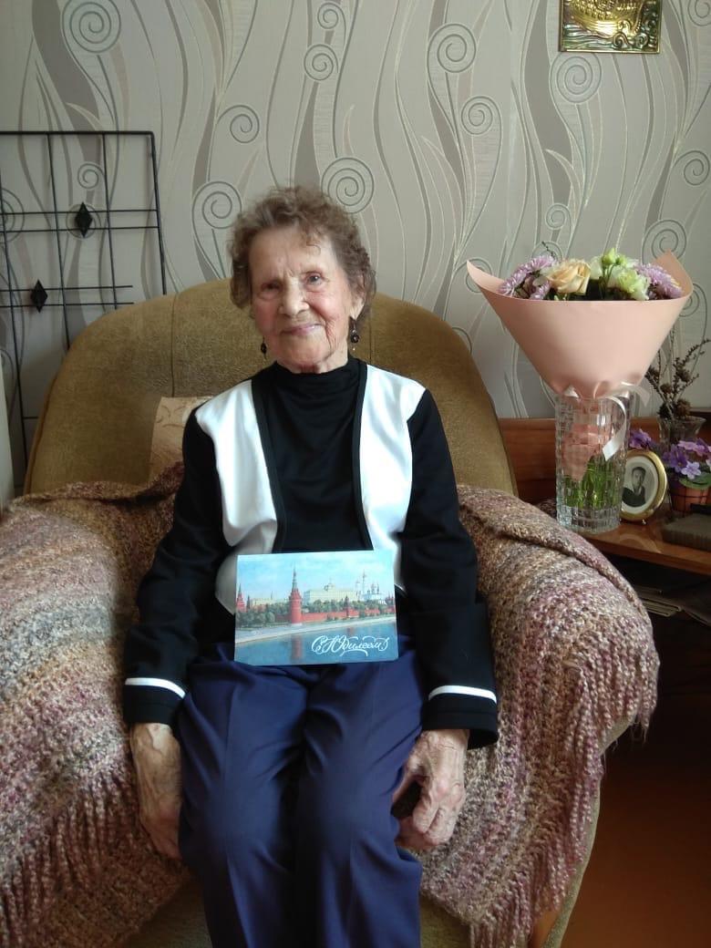 Сегодня свой 95-летний юбилей отмечает жительница Можги