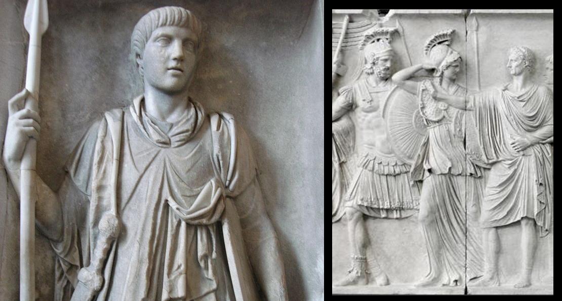 Преторианцы в римской скульптуре
