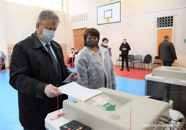 #нейва_новости45 человек проголосовало к 10.15 на ...
