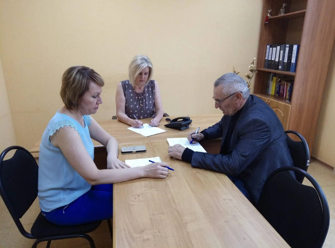 В Центре социального обслуживания населения Петровского района состоялся дистанционный приём