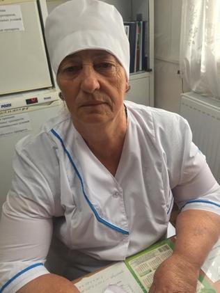 Кияшко Татьяна Ивановна - сестра хозяйка, стаж 42 года.