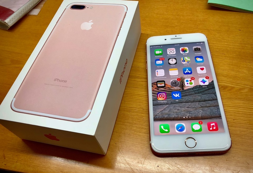 Купить iPhone 7 Plus 32Gb Rose Gold Телефон РОСТЕСТ | Объявления Орска и Новотроицка №18449