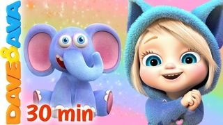🎨 This Little Piggy - Learn Colors with Dave and Ava | Nursery Rhymes and Baby Songs 🎨