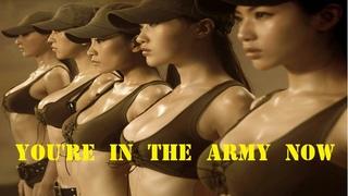 Women's Army-Rammstein(You Tabu) #Rammstein #Army #Girls #China #Cool #News #Military #Prank #Parade
