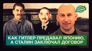 Как Гитлер предавал Японию, а Сталин заключал договор (Николай Стариков)