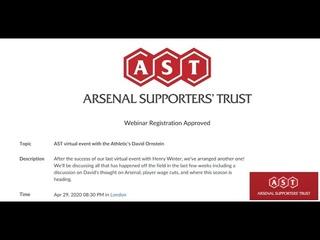 AST virtual meeting with David Ornstein