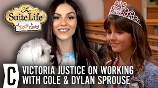 Victoria Justice Reveals What She Admires about Dylan and Cole Sprouse