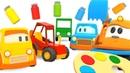 Развивающие мультики про машинки для самых маленьких - Большой сборник мультфильмов для детей