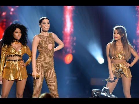 Jessie J ft Ariana Grande Nicki Minaj Bang Bang AMA's 2014