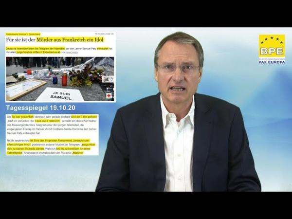 Der Scharia Mord an Samuel Paty seine Unterstützer und Befürworter