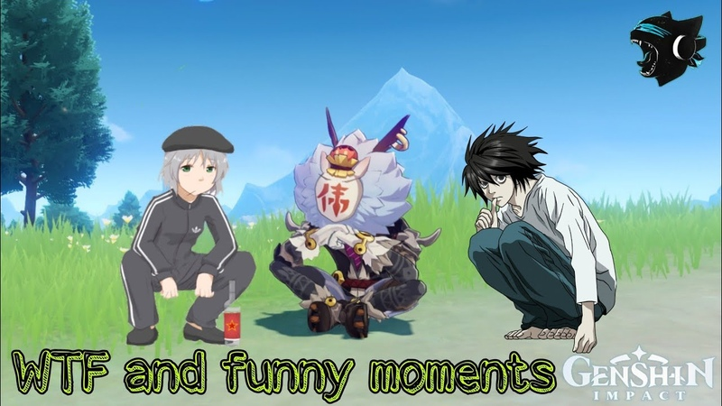WTF and funny moments Genshin Impact 4