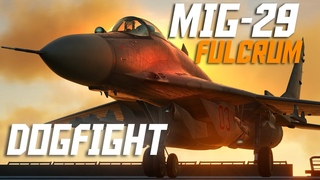 Mig-29 Fulcrum Vs F-16 Viper Dogfight   DCS   Digital Combat Simulator
