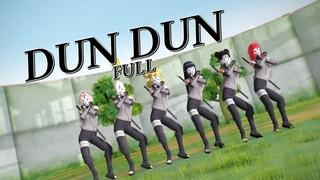 【MMD NARUTO】EVERGLOW - DUN DUN (FULL)