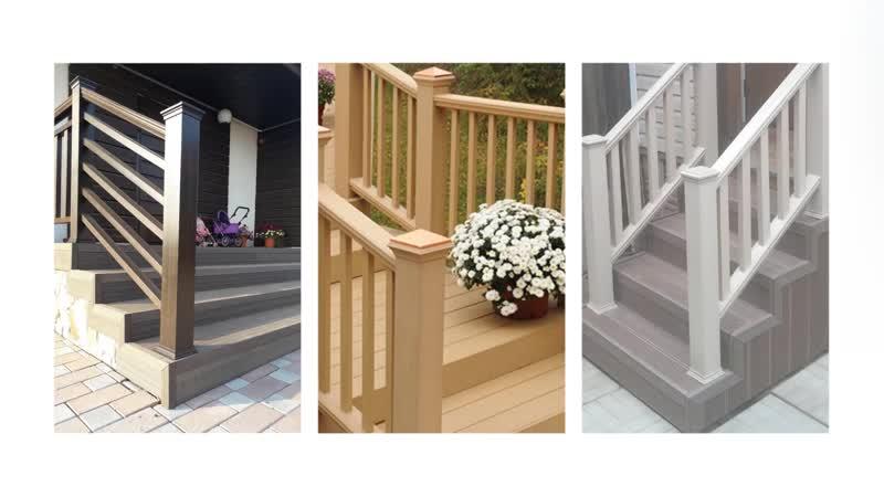 Лестницы на основе древесно полимерного композита Уфа республика Башкортостан
