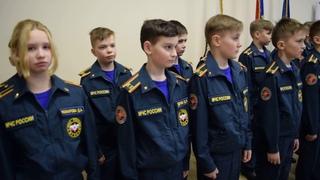 Торжественная клятва воспитанников кадетского класса школы №1 г. Иваново