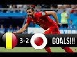 Belgium vs Japan 3-2 All Goals