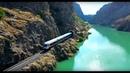DOĞU EKSPRESİ HAVADAN DRONE İLE- Karanlık Kanyon ( Bağıştaş Tren İstasyonu)