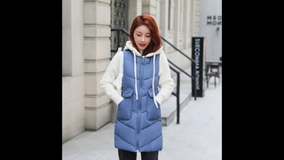 Женская зимняя куртка, тонкий жилет с капюшоном, зимнее пальто, женская парка, mujer 2020 moda mujer invierno, зимняя куртка