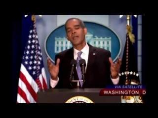 Американское ТВ высмеяло Барака Обаму