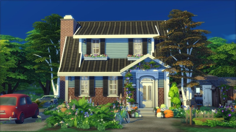 FAMILY HOME 💒 THE SIMS 4 Stop Motion Cottage Living Henford on Bagley NOCC