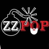 """Логотип Cover Band """"ZZ POP"""" / Кавер-группа / Барнаул"""