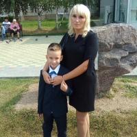 Фотография страницы Оксаны Борисовой ВКонтакте