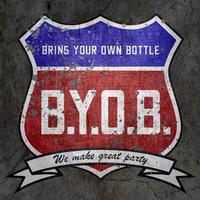 Логотип BRING YOUR OWN BOTTLE
