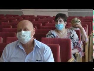 Заседание комиссии по предупреждению распространения коронавируса в Асбесте 7 июля 2020 года