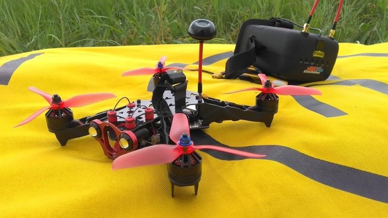 Гоночный квадрокоптер Eachine Racer 250 PRO FPV Racing drone