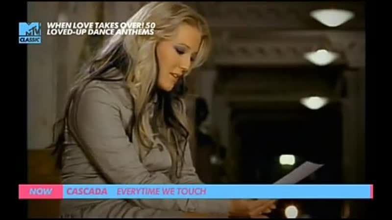 Cascada everytime we touch mtv classic