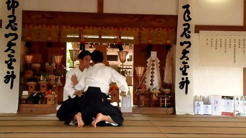 Aikido - Ueshiba Mitsuteru Waka Sensei 2015