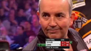 THE BEST MATCH EVER?   Taylor v Lewis   2013 Grand Slam Semi-Final