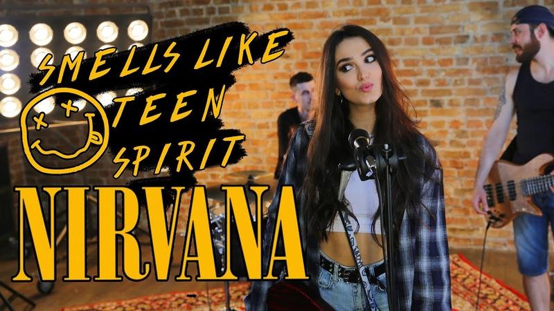 Nirvana Smells Like Teen Spirit cover by Sershen Zaritskaya feat Kim and Shturmak