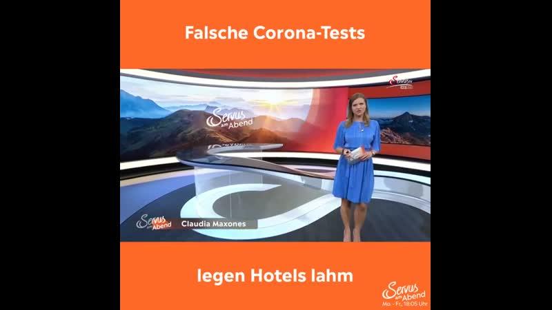 Falsche Corona Tests legen Hotels lahm Servus TV