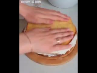 Торт «Молочная девочка» (ингредиенты в описании)