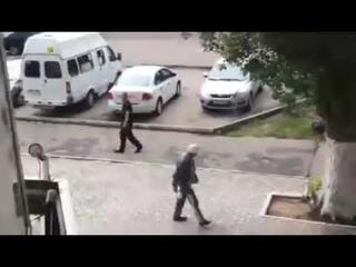 Битва в Воронеже  ГБР применяет оружие