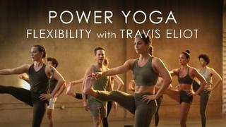 """60min. Power Yoga """"Flexibility"""" Class with Travis Eliot - Level Up 108 Program"""