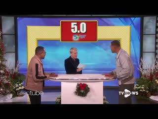 Уилл Смит и Мартин Лоуренс на шоу Эллен Дедженерес