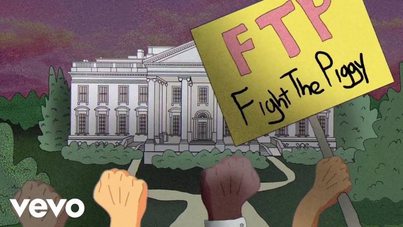 Public Enemy State Of The Union STFU Animated Lyric Video ft DJ Premier