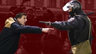 Как прошла незаконная акция в поддержку Навального в Москве