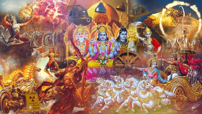 Альцион Плеяды 101 Индия храмы технология Боги Дварка Вимана Астра Война в Асуре Махабхарата