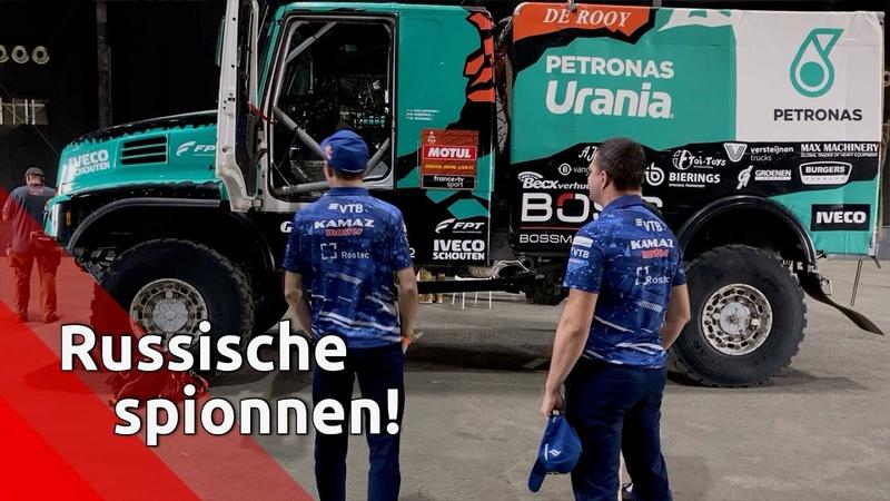 'Russische spionnen' liggen op de loer tijdens voorbereiding Team de Rooy op Dakar Rally